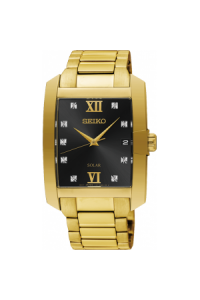 Seiko Gents Conceptual Gold Plated Solar SNE462P-9