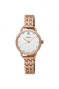 Seiko Ladies Conceptual Rose Gold Plated SUR698P