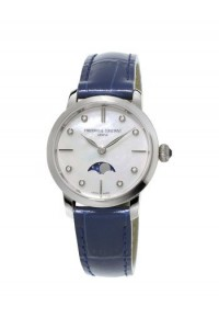 Frederique Constant Slimline Ladies Moonphase FC-206MPWD1S6