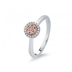 Blush Pink Argyle Diamond Ring