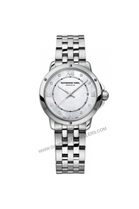 Raymond Weil TANGO mother-of-pearl diamond ladies  5391-ST-00995