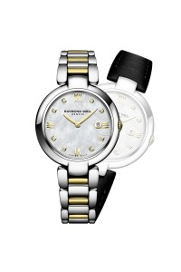 Raymond Weil Shine 32mm Diamond Two Tones Ladies Watch 1600-STP-00995