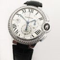 CARTIER BALLON BLEU WE902002 18K GOLD AUTOMATIC WATCH
