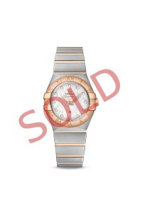 Omega Constellation 18kt Gold 123.20.27.60.55.001 Ladies Wristwatch