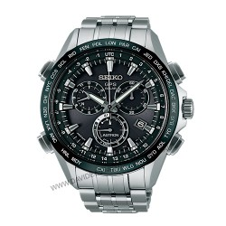Seiko Astron GPS Solar Powered Chronograph SSE003J