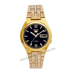 Seiko Automatic 5 Gold Watch SNKL66K