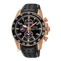Seiko Gents Sportura Chronograph Rosegold Watch SSC274P-9