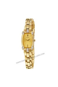 Seiko Ladies Gold Diamond Watch SZZC62P