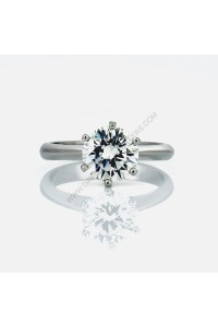 2.01ct Brilliant Cut Platinum Diamond Engagment Ring