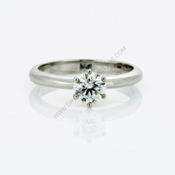 Brilliant Cut Solitaire Engagment Ring
