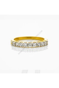 1/2 carat Diamond Claw Set Wedding Ring
