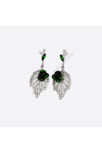 Savorite Fancy Diamond Drop Earrings
