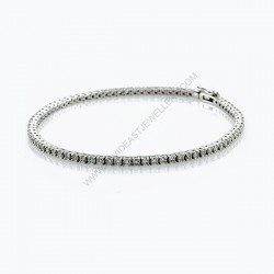 2.45ct Diamond Tennis Bracelet