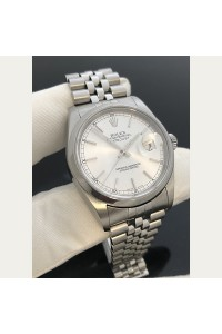 Pre-Owned Rolex Steel DateJust 36mm Ref.16200 Jubilee Band Complete Set